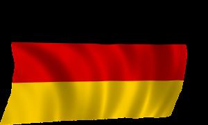 Stau Deutschland Fahne