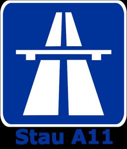 Stau A11