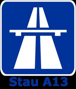 Stau A13