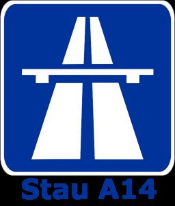 Stau A14
