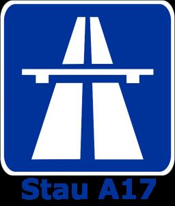 Stau A17