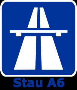 Stau A6
