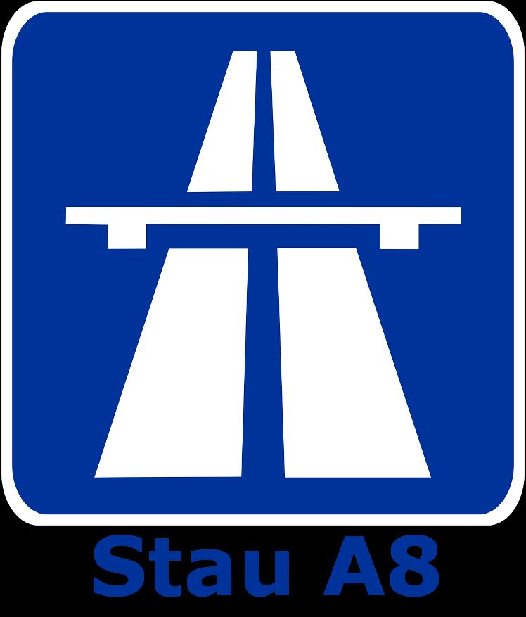 Stau A5 A8