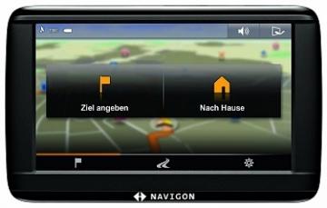 NAVIGON 42 Easy Navigationssystem