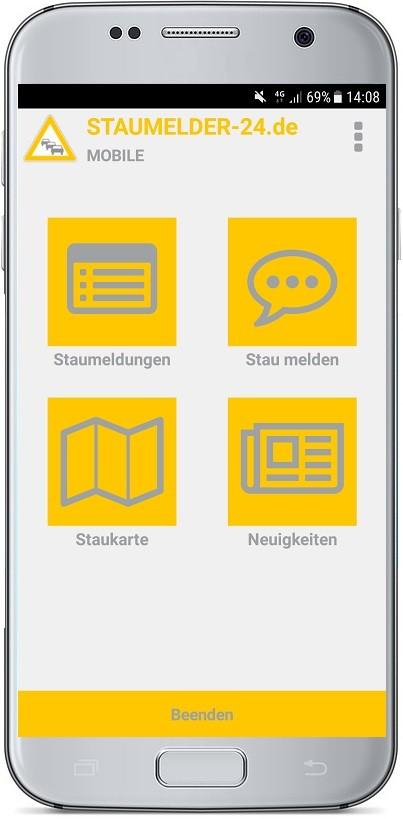 staumelder mobile screenshot 1 staumelder. Black Bedroom Furniture Sets. Home Design Ideas