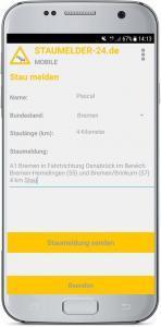 Staumelder MOBILE App 4
