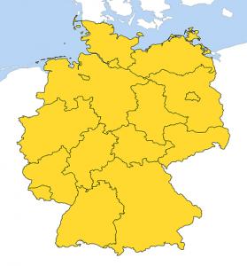 Staukarte Deutschland