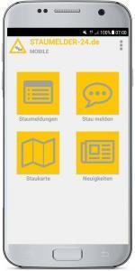 Staumelder MOBILE - Version 1.0.3 Screenshot 1