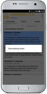 Staumelder MOBILE - Version 1.0.3 Screenshot 10