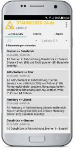 Staumelder MOBILE - Version 1.0.3 Screenshot 2