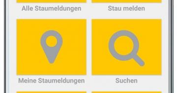 Staumelder MOBILE Version 1.0.7 Screenshot 1