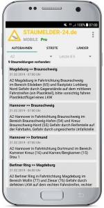 Staumelder MOBILE Version 1.0.7 Screenshot 2